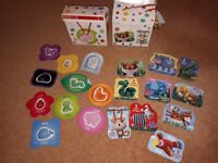 Pre School first puzzles from marks and spencers
