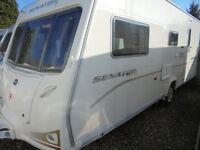 2008 Bailey Senator Arizona 4 Berth Touring Caravan With Dinette & Large Rear Washroom