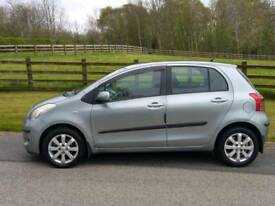 2007 Toyota Yaris 1.3 petrol 5dr New clutch fitted 2 keys bargain price