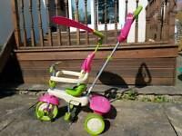 Smart Trike 4 in 1 - Pink & Green