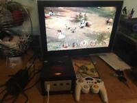 Nintendo GameCube console & game