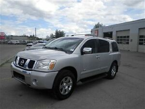 2007 Nissan Armada LE | Leather | Backup Cam | Sunroof | Nav