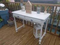 Shabby chic beautiful console / dressing table