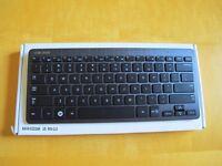 Genuine Samsung Wireless Bluetooth Keyboard, brushed metal finish (as NEW)