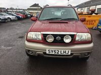 FREE DELIVERY***2002 SUZUKI GRAND VITARA ESTATE 2L DIESEL 4x4***FREE DELIVERY AVAILABLE