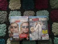 new blu rays 21 jump street and 22 jump street £4