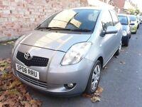 2008 Toyota Yaris 1.3 VVT-i T3 5dr, 12 months MOT, Low mileage