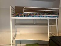 Ikea Loft Bed with mattress local delivery possible