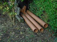 3x3meter under ground pipes unused/brannew