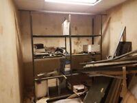 Heavy Duty 8 Tier Metal Warehouse Shelving Unit Storage