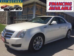 2010 Cadillac CTS PANORAMIC POWER SUNROOF.LEATHER.ALLOYS.REMOTE