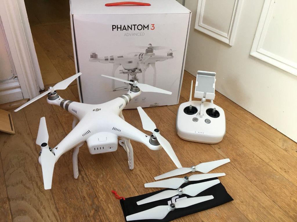 DJI Phantom 3 Advanced Drone (Boxed / Like New)   in Streatham, London    Gumtree
