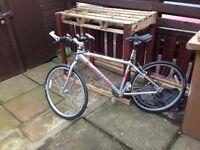 Vulcan carrera mountain bike.
