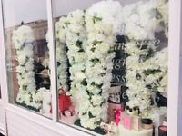 Floral Love Letters for Hire and decor