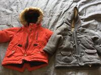 Next coat and mothercare coat 9-12 Months