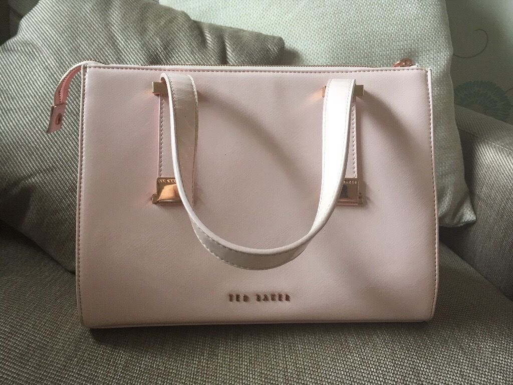 f5e6bf828 Ted baker handbag baby pink