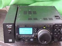 YAESU FT897D HF VHF UHF HAM RADIO TRANSCEIVER, WIDEBANDED BOXED