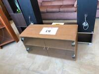 Wooden/glass tv cabinet