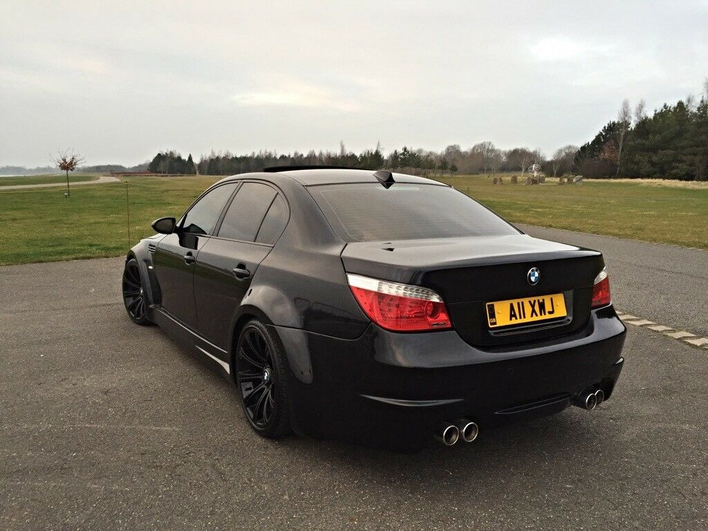 bmw m5 5 0 v10 smg 550bhp one off wide body show car px welcome in windsor berkshire gumtree. Black Bedroom Furniture Sets. Home Design Ideas