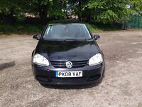 Volkswagen Golf 1.9 TDI black 2008