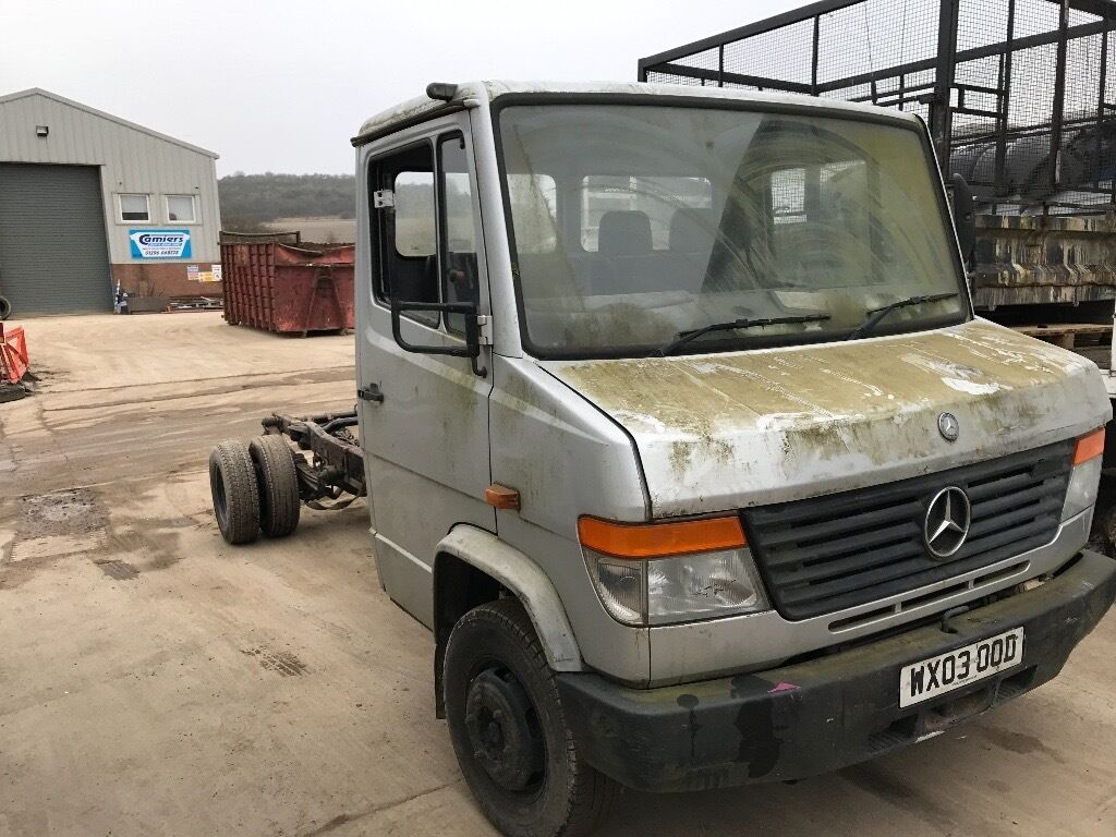 mercedes vario 614 2003reg chassis cab for sale in watford hertfordshire gumtree. Black Bedroom Furniture Sets. Home Design Ideas