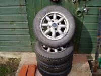 "Classic Mini 12"" Alloy Wheels. 1275 GT. for sale  Warlingham, Surrey"