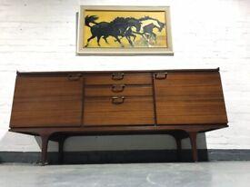 Credenza Vintage Ikea : Ikea media unit dark wood shelves and drawers in pontcanna