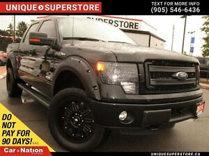 2014 Ford F-150 FX4| NAVI| LIFTED| DUAL DVD| LEATHER| SUNROOF|