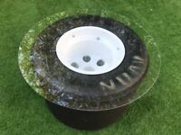 Used, F1 style wheel / tyre 'coffee' table. for sale  Up Hatherley, Gloucestershire