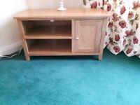 Oak Wood TV Cabinet