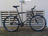 Mens Mountain Bike - Town Bicycle - Single Speed - Medium to Large Frame