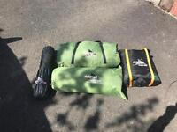 Vango Icarus 600 + Front Enclosed Canopy+Footprint+Carpet