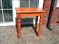 Solid Pine Hall Table