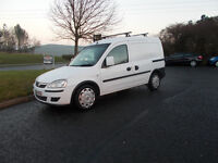 VAUXHALL COMBO 1.7 CDTI DIESEL VAN BRILLIANT WHITE 2011 IMMACULATE BARGAIN 2350 *LOOK* PX/DELIVERY
