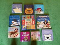 10 baby books including 'That's not my...' titles!!