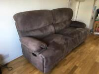 Sofa settee. 2 seater and chair £250