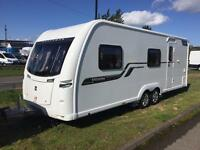 2015 COACHMAN VISION 640/6 6 BERTH TWIN AXLE TOURING CARAVAN WITH AWNING MOTOR MOVERS AND EXTRAS