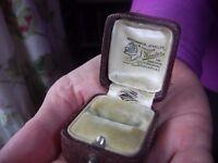 Vintage RING BOX - Collect NORTHAMPTON