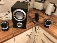 Sony speakers Sony - SRS D211 - 2.1-channel PC multimedia speaker system