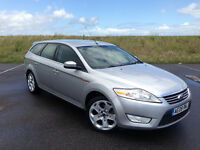 2008 FORD MONDEO 2.0 TDCI GHIA ESTATE FULL SERVICE HISTORY LONG MOT STUNNING CAR