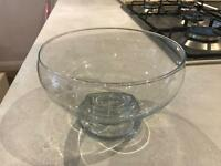 Footed Glass Bowl - ideal for sweet table!