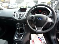FORD FIESTA 1.4 Edge 3dr Auto (black) 2010