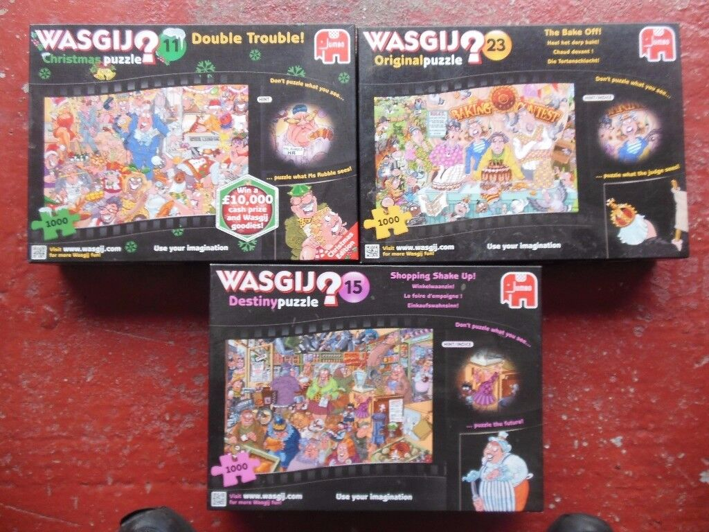 3 WASJIG PUZZLES
