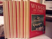 8 volumes of Wings of Fame
