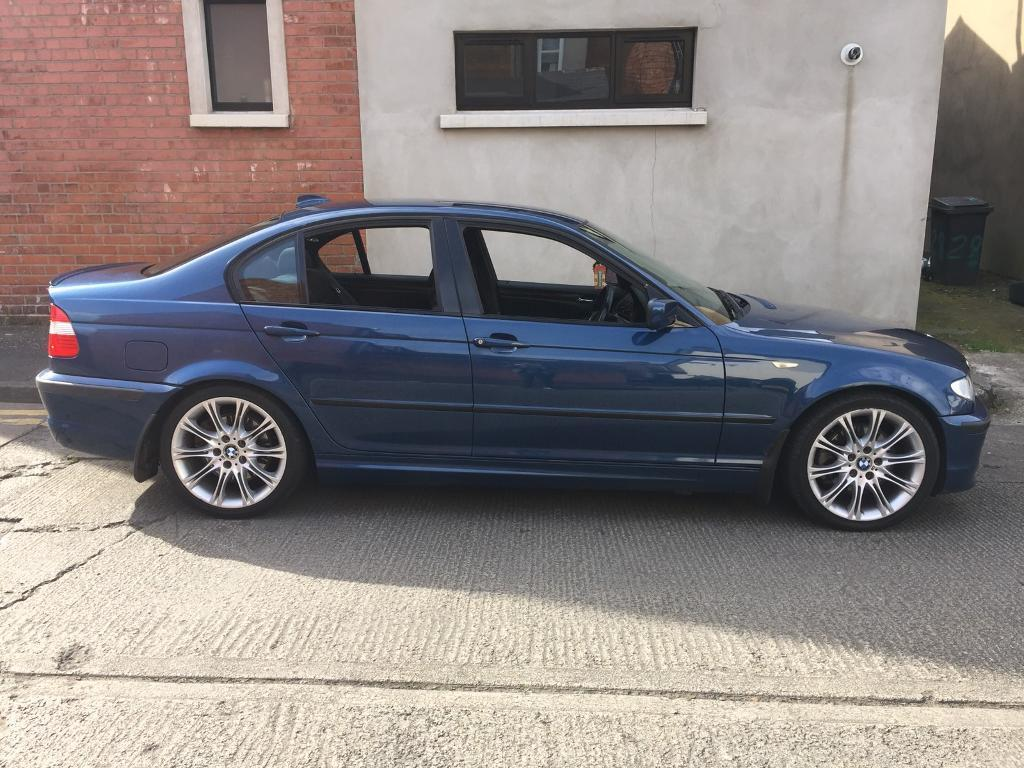 bmw 330d diesel e46 topaz blue genuine m sport 12 months 1 year full mot 2001 facelift automatic. Black Bedroom Furniture Sets. Home Design Ideas