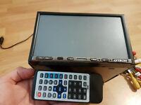 Car stereo DVD Bluetooth MP3 USB AUX port GPS head unit remote control Double DIN