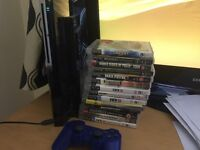 Playstation 3 one wireless controller 14 games