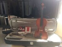 Violin, 3/4 size. Vivente outfit, inc case, Paesold bow, set of spare strings.