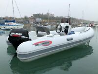 RIB BOAT INFLATABLE POWER DIVE BOAT