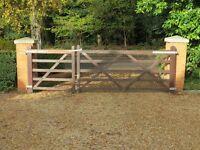 2 Wooden Driveway, Field or Yard gates